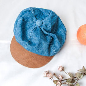 Boho Denim Fiddler Hat